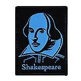 David Cherry Artist Iron On Patch - William Shakespeare - RARE!