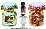 Nose Desserts Magical Mushroom Wonderland Fantasy- Fragrance Oil Diffuser Potpourri Warmer-burner with 1-bottle ½-Oz Fragrance Oil, By