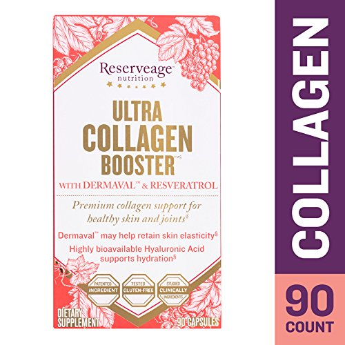 Capsules Fruits 90 Radical (Reserveage - Ultra Collagen Booster, Beauty Building Support for Youthfully Firm, Wrinkle Free Skin and Protection Against Free Radical Damage with Resveratrol and Dermaval, Gluten Free, 90 Capsules)