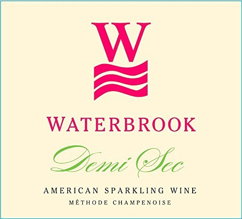 Non-Vintage Waterbrook Winery Demi Sec, American Sparkling Wine, Methode Champenoise, 750mL