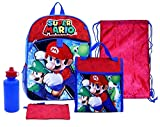 Nintendo Super Mario 5 Piece Backpack Set - Best Reviews Guide