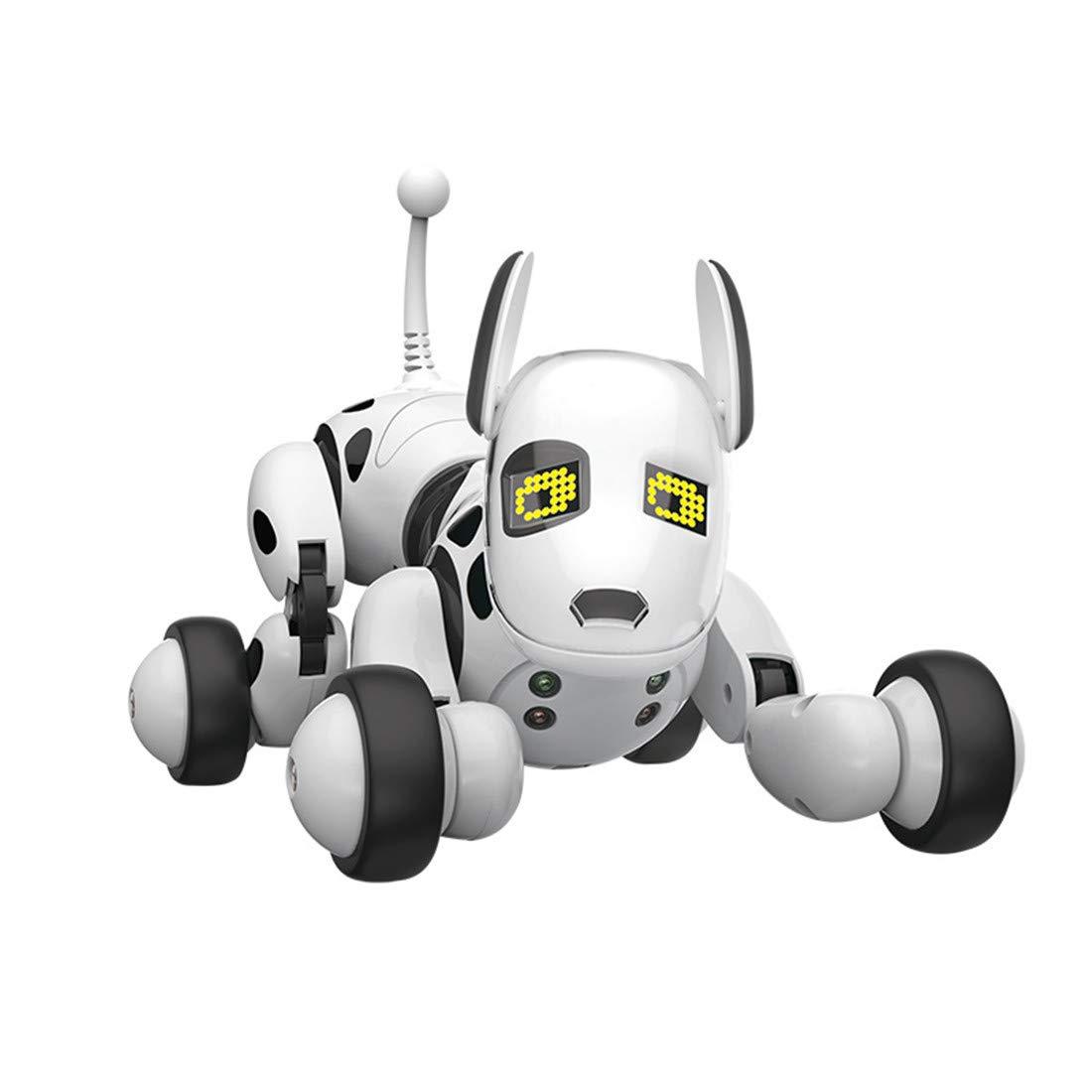 Rcスマートドッグリモコンインテリジェントロボット犬電子ペット教育玩具子供 B07NS7DYQ5 B