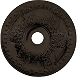 Ekena Millwork CM23GABZS 23 3/8'' OD x 3 5/8'' ID x 2 1/2'' P Granada Ceiling Medallion (fits Canopies up to 7 1/8''), Bronze