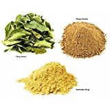 Jalpur Millers Spice Combo Pack - Asafoetida 50g - Dry Mango Powder 100g - Dried Curry Leaves 50g (3 Pack)