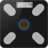KKmoon Body Fat Scale, BT Electronic Digital Weight Scale Body Composition Analyzer Monitor with Smartphone App
