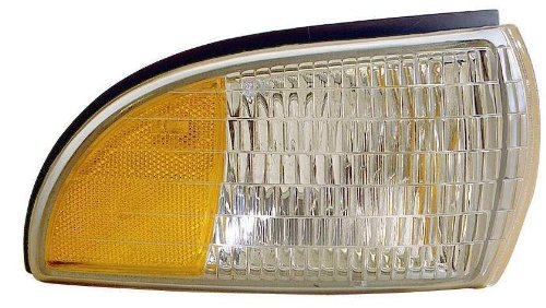(Depo 332-1527R-UST Chevrolet/Buick/Oldsmobile Passenger Side Replacement Side Marker Lamp Unit with Cornering)