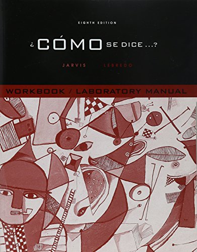 Como Se Dice (Workbook/Lab Manual) by Brand: Cengage Learning