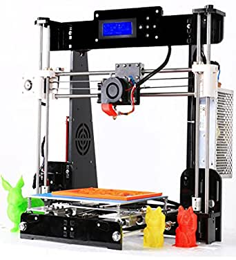 Win-Tinten A8 de Acrílico DIY 3D Printer Kits Reprap i3 Upgrade ...