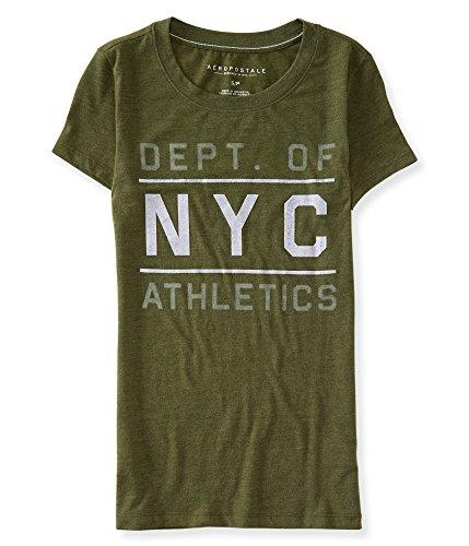aeropostale-womens-nyc-athletics-felt-graphic-t-shirt-xs-olive