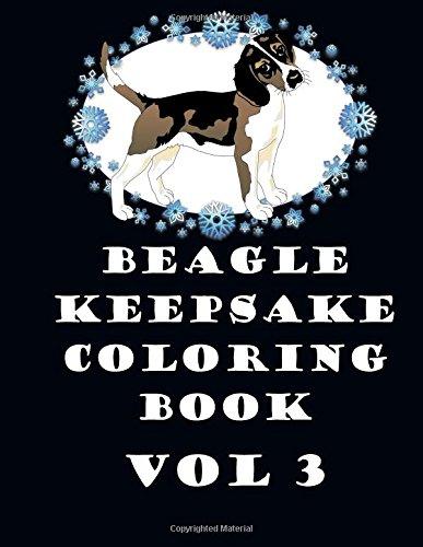 Beagle Keepsake Coloring Book Vol 3