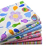 "Arts & Crafts : iNee Floral Fat Quarters Quilting Fabric Bundles for Quilting Sewing Crafting, 18"" x 22"", (Floral)"
