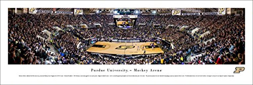 Purdue Boilermakers Basketball   Blakeway Panoramas Unframed Poster