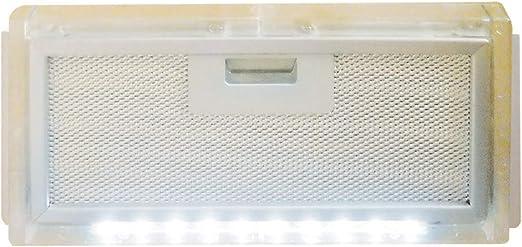 AVDISTRIBUTION Campana para Caravana – Lux – Disponible en la Versión con o sin Luces de LED Carter Filtro Cappa con Luce LED: Amazon.es: Coche y moto