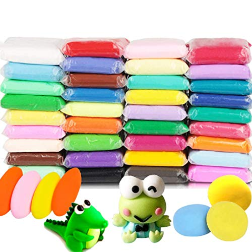 Soft Clay Air Dry Molding for Slime 36 Color