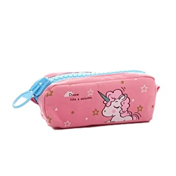 Amazon.com: TMY Big Zipper Pencil Case Big Capacity Canvas ...