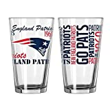 New England Patriots Official NFL 16 fl. oz. Spirit Pint Glass
