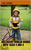 Bulldozer Toddler Hoodie - Boys' Sizes 2 and 4