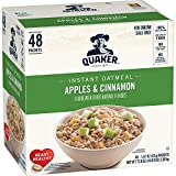 Do you like apples? So does Quaker. That's why we've mixed the tart sweetness of apples & tangy cinnamon and blended the two with our wholesome Quaker Oats. There's an old saying about an apple a day and a doctor. We wonder what that doctor would...