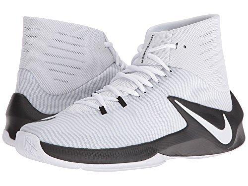 Nike Mens Zoom Elimina Tb Scarpe Da Basket Bianche