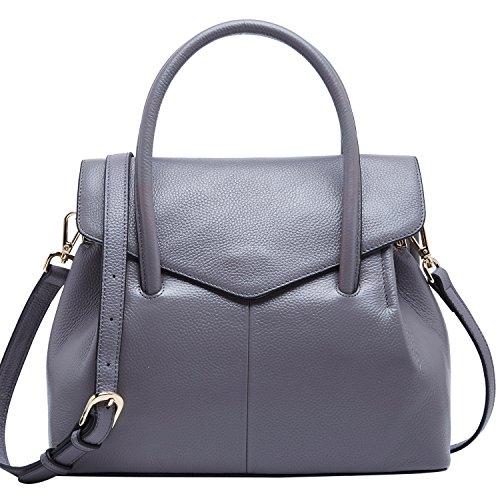 Handle Top for Women Tote Designer Leather Purse Ladies Handbags Grey Bag Bags BOYATU RBxz6z