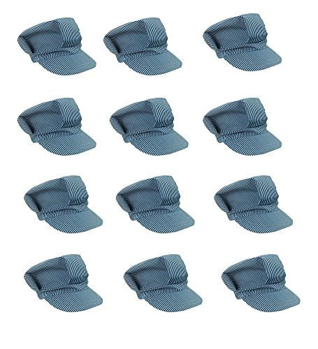 (Adjustable Train Engineer Hats - Train Engineer Costume Hats (12)