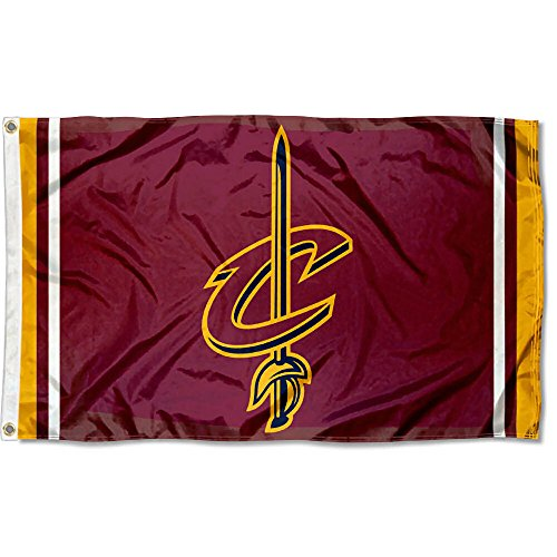 WinCraft Cleveland Cavaliers C-Sword Logo Flag and Banner ()