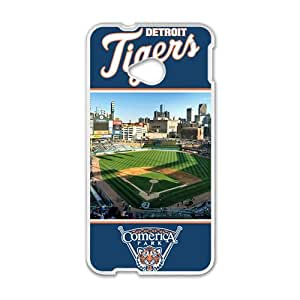 Detroit Tiger White htc m7 case by runtopwell