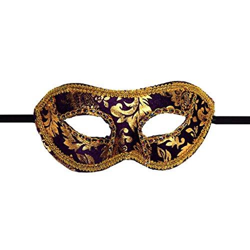 Luweki Venetian Masquerade Halloween Mask PP