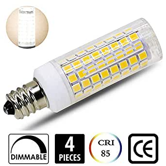 4 pack e12 led bulb 100w equivalent dimmable mini candelabra led 100w equivalent 850lm 110v. Black Bedroom Furniture Sets. Home Design Ideas