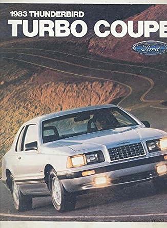 1983 Ford Thunderbird Turbo Coupe Brochure