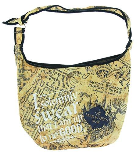Harry Potter Solemnly Swear Hobo Bag Harry Potter Purse