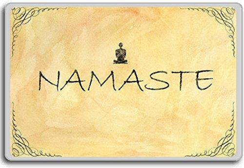 Namaste - Motivational Quotes Fridge Magnet (Namaste Magnet)