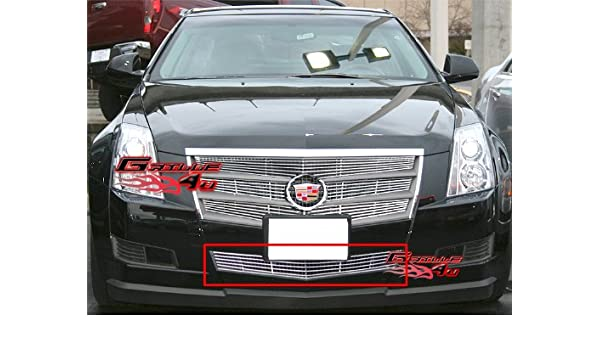 APS Compatible with 2008-2013 Cadillac CTS Lower Bumper Billet Grille Grill Insert A65258A