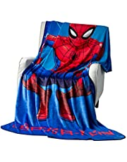 Expressions Kids Throw Blankets Marvel and Disney for Boys and Girls Toddlers Teens,All Seasons Super Comfty Flannel Fleece Blanket,Best Gifts for Kids,50x60 inches