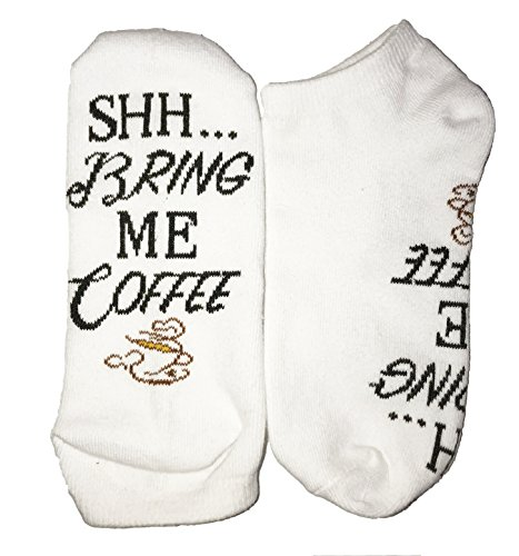 Shh Bring Me Coffee Quality Premium Unisex If You Are Reading This Coffee Socks Perfect Cute Coffee Lovers Present Gift
