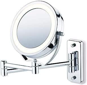 Espelho Iluminado led Maquiagem Banheiro Closed Parede e