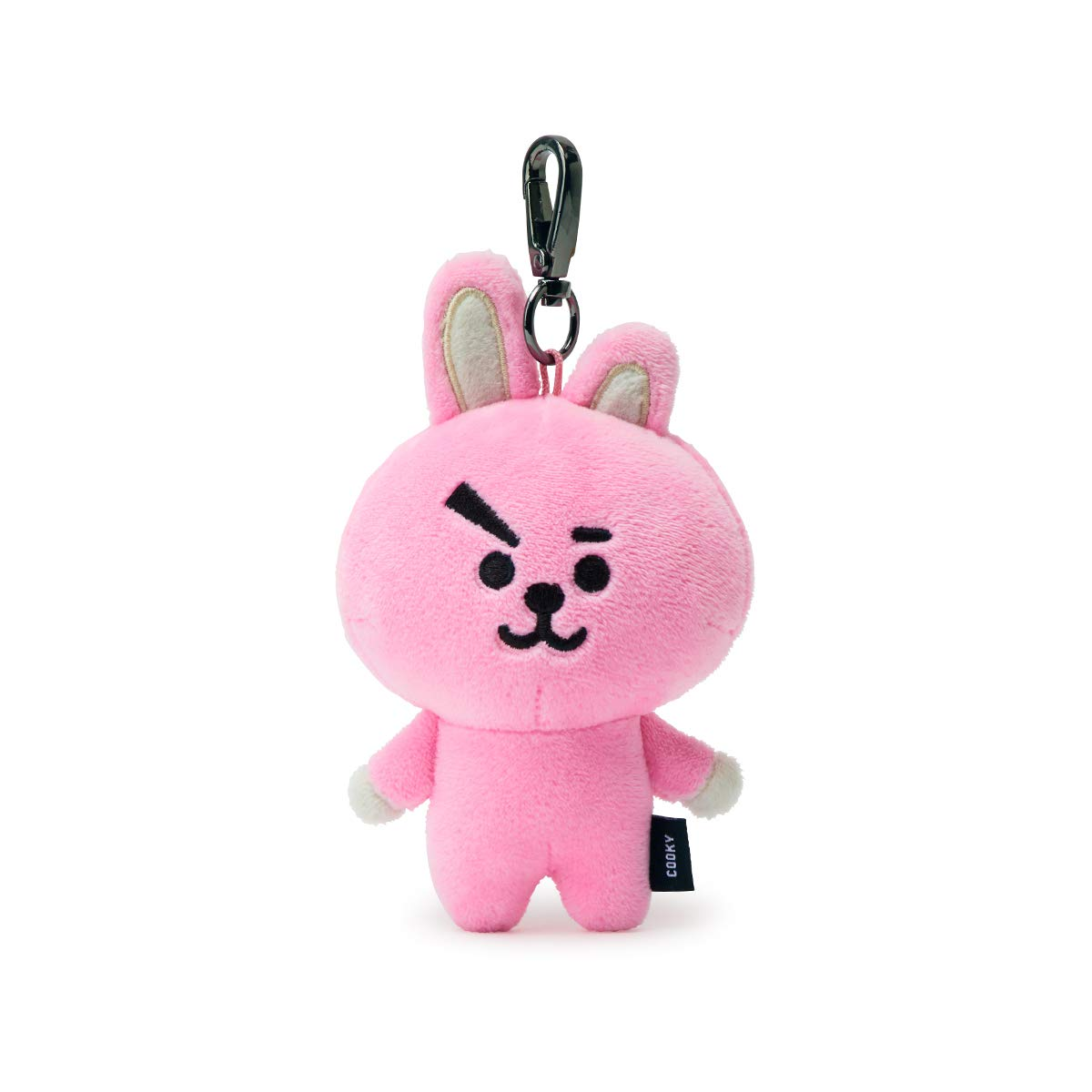 BT21 Official Merchandise by Line Friends - Cooky Character Doll Keychain Ring Cute Handbag Accessories by LINE FRIENDS