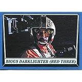 Star Wars Rogue One Mission Briefing Blue Base Card #89 Biggs Darklighter (Red Three)