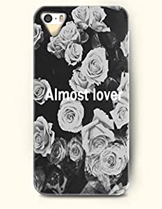 Almost Lover - - iPhone 5 / 5s Hard Back Plastic Grey