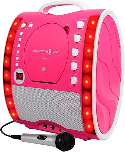 Graphics Karaoke System - The Singing Machine SML343 Karaoke System Pink