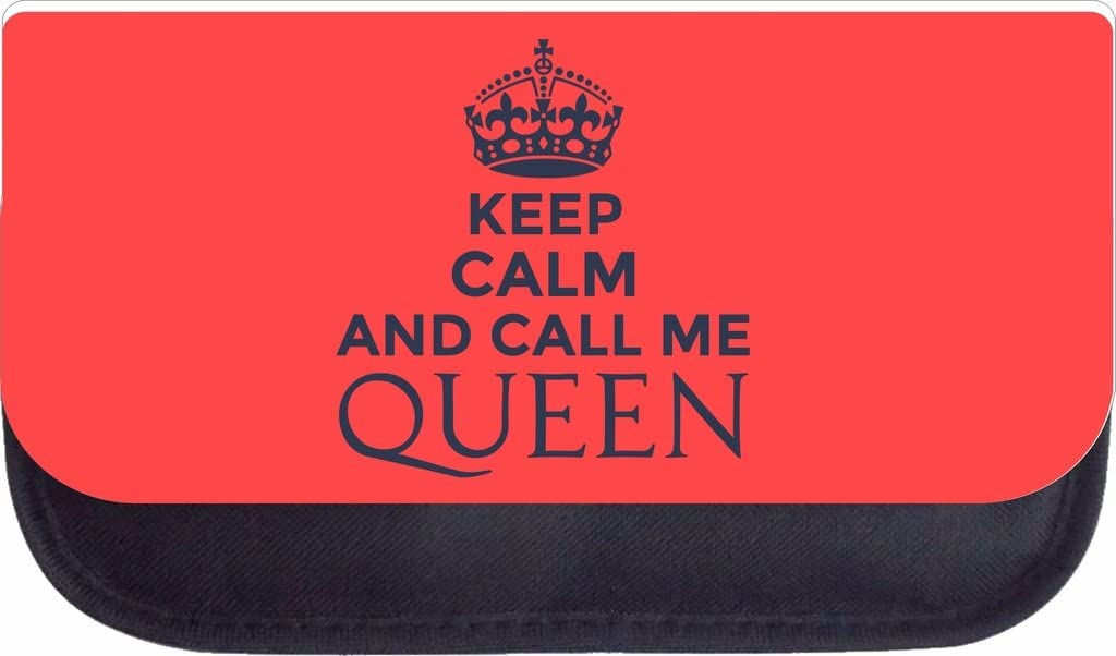 Keep Calm and Call Me Queen School Backpack and Pencil Case Set