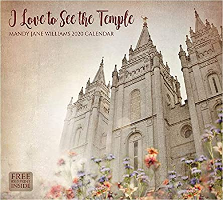 2020 Wall Calendar- Mandy Jane Williams- I Love to See The