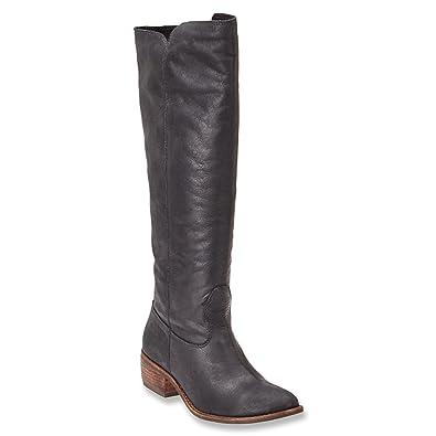56b5bb5b4 Ladies Casual Tall Boot Fashion Design Seamless Comfort Synthetic footbed  Medium B(M) 9.5