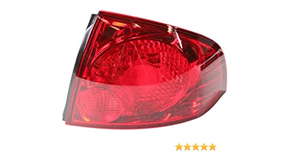 For 04-05 Sienna Taillight Taillamp Outer Brake Light Lamp Left Right Set PAIR