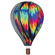 Hot Air Balloon Shaped Wind Spinner (22in) - Tie Dye