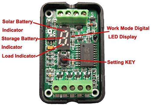 Jillier 6V 12V 3A PWM Solar Panel Light Controller Battery Charge Regulator Intelligent