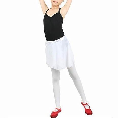 chinkyboo - elástica falda de ballet Danza Niña de falda envolver ...