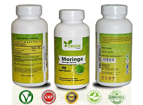 Moringa Capsules Extract Natural Metabolism product image