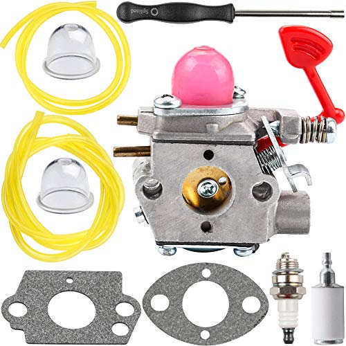 545081855 Carburetor for Poulan Craftsman Gas Pro Blower BVM200C BVM200VS P200C Walbro WT-875-A Pro PP320 P325 XLB GBV325 PPB1838LE PL855 Weedeater Chainsaw - Poulan BVM200vs Carburetor Parts Kit