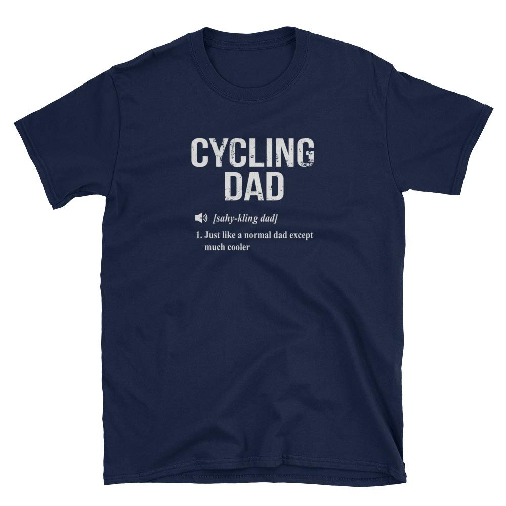 SkyTeeDesigns Cycling Dad Shirt Cycling Dad Gift Only Cooler Dictionary Definition